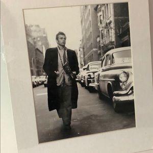 James Dean Broadway Print 11 x 14 matted